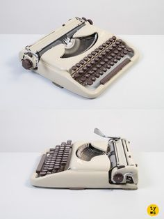 The legendary ultra-portable Groma Kolibri, model N! #typewriter