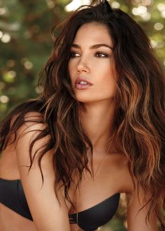 Image result for tiger eye hair trend on brunette
