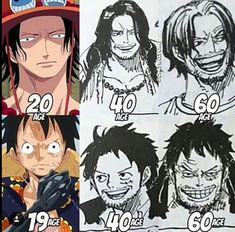 Luffy looks a lot like Shanks in his and like Garp in his But Ace kinda looks like Rayleigh One Piece Pictures, One Piece Images, Monkey D Luffy, One Piece Manga, Zoro, Anime D, Anime Meme, Ace Sabo Luffy, One Piece Funny
