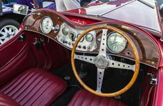 https://flic.kr/p/vSPXoT   Beautifly Restored MG Interior   This MG interior is immaculate. At the Coffee and Cars 4th Anniversary in Oklahoma City.
