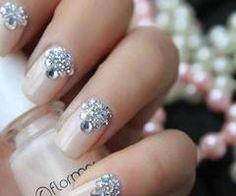 Wedding Nails | See more nail designs at http://www.nailsss.com/acrylic-nails-ideas/2/