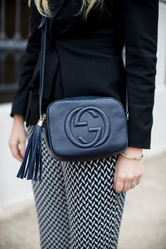 Love this Gucci bag // have this in green and I use it all the time!