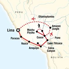 Trek the Inca Trail to Machu Picchu, search for wildlife at our exclusive G Lodge Amazon, spot condors at Colca Canyon, experience local life at a homestay on Lake Titicaca, explore the mysterious Nazca Lines