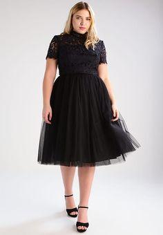Chi Chi London Curvy BRONTE - Cocktailkleid / festliches Kleid - black für 89,95 € (08.04.17) versandkostenfrei bei Zalando bestellen.