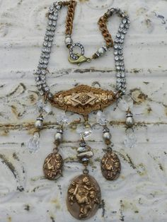 Image result for upcycled jewelry christmas tree
