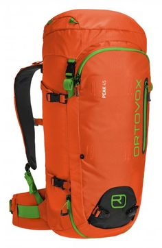 The PEAK 45 backpack is made for alpine tours. This backpack is very robust  thanks to the use of the extremely tear and abrasion resistant material. 3dc9e9801b83b