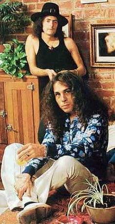 Ronnie James DIO and   Ritchie Blackmore