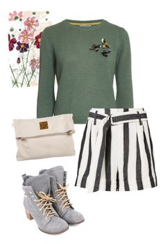 """bag"" by masayuki4499 ❤ liked on Polyvore featuring Frame and Tory Burch"
