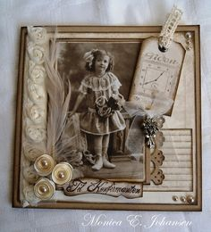 vintage heritage scrapbook, i have so many old pictures I could us is artistic inspiration for us. Get extra photograph about House Dec… Heritage Scrapbook Pages, Scrapbook Page Layouts, Scrapbook Cards, Scrapbook Photos, Scrapbooking Vintage, Vintage Cards, Vintage Frames, Vintage Stuff, Old Pictures