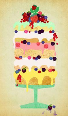 """Fairy Cake"" von Elisandra Sevenstar"