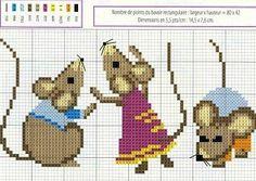 Cinderella's mice ༺✿ƬⱤღ  http://www.pinterest.com/teretegui/✿༻