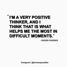 Reposting @iamwaqassafdar: To win the game of life you need to think positive in all situations.  What do you think ? #rogerfederer #grigordimitrov @rogerfederer @grigordimitrov  Tag Someone to Inspire Follow 👉 @iamwaqassafdar for More. #goodqoute  Like | Comment | Share . . . . . #qoute #qouteoftheday #motivation  #Amazing #dedication #determination  #Innovate #love #startup #rich #life #usa #Innovation #boss #happy #wisdom #Luxurylife #money #qotd #entrepreneur  #Luxury #grind #success