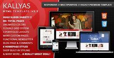 KALLYAS - Responsive Multipurpose Template - ThemeForest Item for Sale