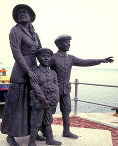 Annie Moore and her brothers, Irish emigrants - Cobh Heritage Center