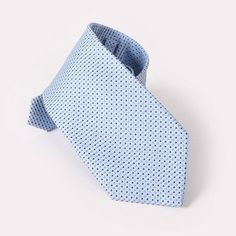 Men Silk Neck Tie Fashion Blue Stripes Neckties Jacquard Woven Wedding Ties For Men