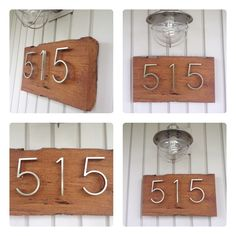 Custom Made House Number by TracyFrenchEvents on Etsy, $100.00