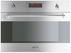 SU45MCX: Oven Smeg designed in Italy, has functional characteristics of quality with a design that combines style and high technology. See it at www.smegusa.com