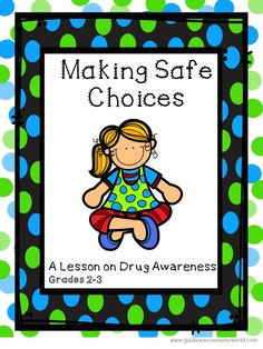 Guidance lesson on Drug Awareness for Grades 2-3. Teach kids how to be aware and identify when it's appropriate and inappropriate to take drugs. NEVER create another guidance lesson again with our aligned K-6 guidance lessons!