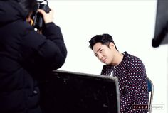 JKS 💋 Behind cuts of photo shooting for #switch posters