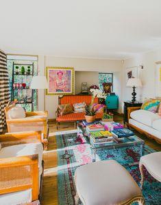 Virginia Demaria y Arsenio Molina, chef e ingeniero comercial Home Design Decor, House Design, Home Decor, Design Ideas, Interior Design Business, Cool Rooms, Living Room Interior, House Colors, Living Spaces