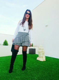 Falda Vichy @miscositascursis