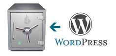 Wordpress-sauvegarde