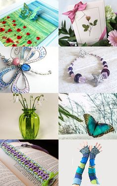 Shades of Spring by Valerie on Etsy--Pinned with TreasuryPin.com