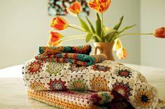 crochet pile by rainingsheep, via Flickr