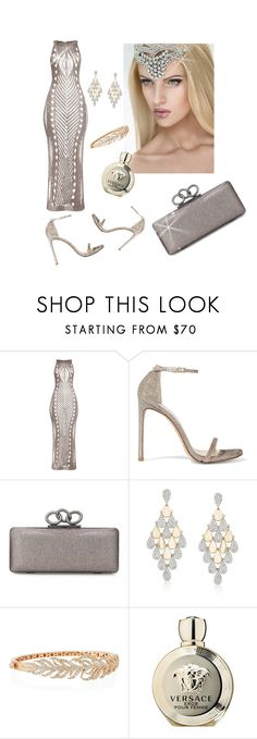 """Untitled #844"" by mozzy18 ❤ liked on Polyvore featuring Stuart Weitzman, Diane Von Furstenberg, Ross-Simons, Sutra and Versace"