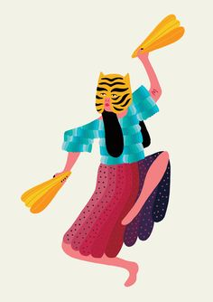 Michela Picchi › TIGER GIRL