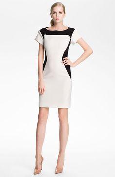 Rachel Roy Colorblock Sheath Dress