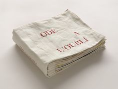 Louise Bourgeois. Ode à l'oubli . 2003-2004