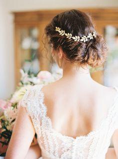 Romantic wedding updo