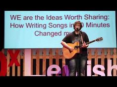 How Writing Songs in 60 Minutes Changed my Life: Judith Avers at TEDxLew...