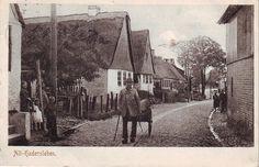 Denmark Danmark Germany Haderslev Hadersleben Old Street 1909 mailed Postcard | eBay