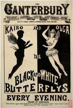 Kairo and Olga, the Black and White Butterflies, 1882