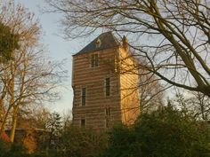 The tower of a once big castle.
