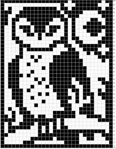 Ravelry: Barn Owl Chart pattern by Melanie Nordberg