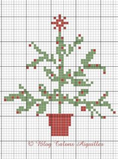 Could use this to go on a crochet cushion/ hot water bottle etc Xmas Cross Stitch, Cross Stitch Christmas Ornaments, Cross Stitch Needles, Christmas Embroidery, Christmas Cross, Cross Stitching, Cross Stitch Embroidery, Simple Christmas, Free Cross Stitch Charts