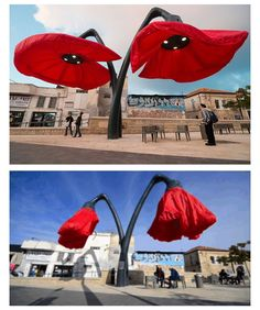 KUNST! Ik zeg van wel! These Flower Lamps Bloom When People Stand Under Them http://themindcircle.com/flower-lamps/