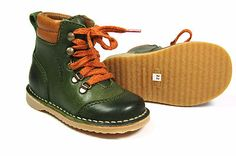NEW°Bisgaard°Boy's°desert boots°green°