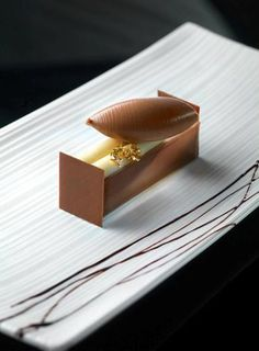 Gianluca Fusto - chocolate dessert #plating #presentation
