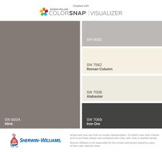 I found these colors with ColorSnap® Visualizer for iPhone by Sherwin-Williams: Loch Blue (SW Butterfield (SW Dover White (SW Marigold (SW Lime Rickey (SW Exterior Paint Schemes, Paint Color Schemes, Exterior Paint Colors For House, Interior Paint Colors, Paint Colors For Home, Exterior Colors, Paint Colours, Color Vison, House Painting