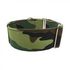 galgo halsband camouflage   podenco hondenhalsband   windhonden halsband legerprint