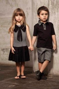 Cora and Draco when they're little