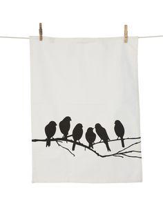 ferm LIVING - Lovebirds Viskestykke