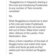 Muggleborn students at Hogwarts