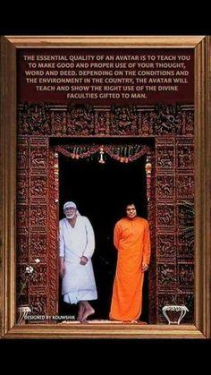 Sai Baba Bhajan, Sai Baba Miracles, Saints Of India, Teacher Photo, Sai Baba Pictures, Sai Baba Quotes, I Will Protect You, Sai Baba Wallpapers, Sathya Sai Baba