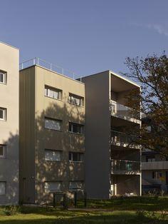 45 logements _ ZAC de la Trémelière_LE RHEU - Agence a/LTA architectes - urbanistes Le Trionnaire (x2) - Tassot - Le Chapelain Multi Story Building, Urban Planning, Architects