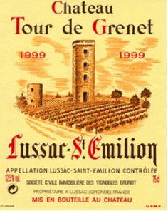 Château Tour de Grenet   Lussac St Emilion